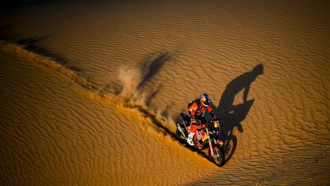 Toby Price, durante el Dakar 2021