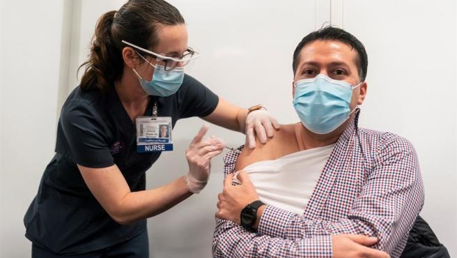 Vacunación en Estados Unidos.