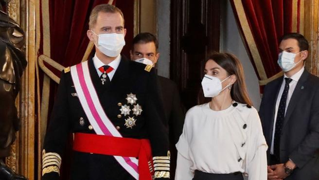 Felipe VI preside la ceremonia de la Pascua Militar