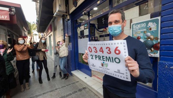 Una administración de Murcia ha vendido parte del segundo premio.