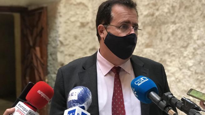 El delegado de Gobernación del Ayuntamiento de Sevilla, Juan Carlos Cabrera