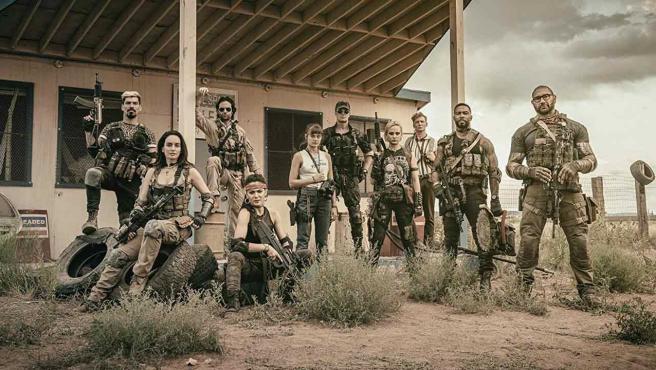 El elenco de 'Army of the Dead'