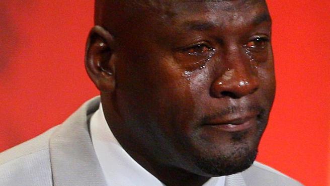 Michael Jordan convertido en uno de los memes más famosos.