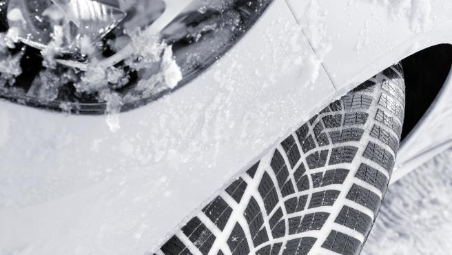 Neumáticos de invierno de la marca Goodyear.