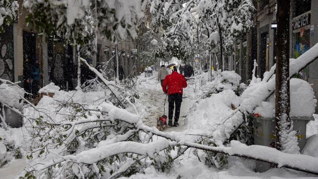Madrid se enfrenta a una ola de frío extremo tras el paso de Filomena
