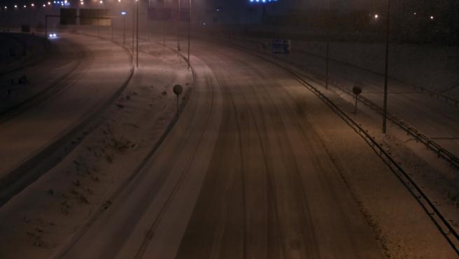 Tras Filomena, una ola de frío polar amenaza Madrid.