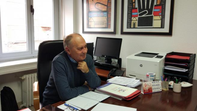 Imagen de archivo del secretario general de UGT en Castilla y León, Faustino Temprano.