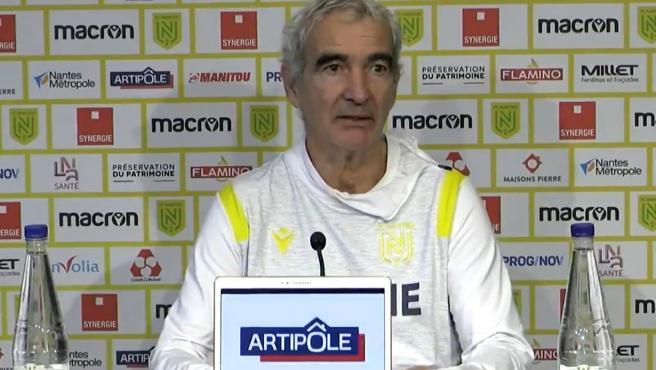 Raymond Doménech, en rueda de prensa
