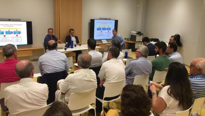 Asamblea de la Asociación de Industrias de la Carne de la Comunitat Valenciana (AicCV).