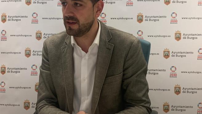 David Jurado, concejal de Hacienda de Burgos.