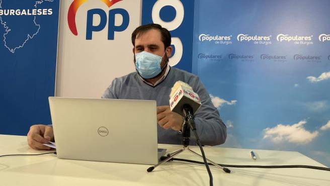 """El II Plan de Crisis de Burgos no estará operativo, al menos, hasta mayo por la """"vagancia"""" del bipartito, según el PP ."""