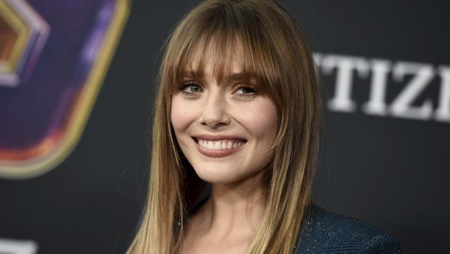 Elizabeth Olsen en la premiere de 'Vengadores: Endgame'