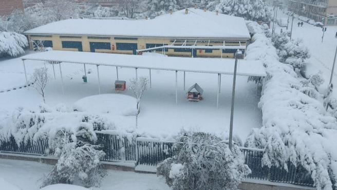 Imagen de la Escuela de Educación Infantil San Fermín, en Orcasitas.