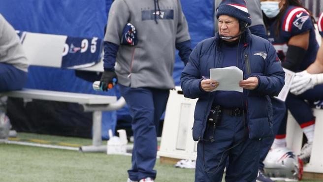 Bill Belichick, entrenador de los New England Patriots.