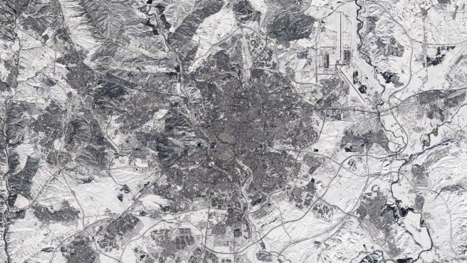Imagen de Madrid capturada por la misión Copernicus Sentinel-2