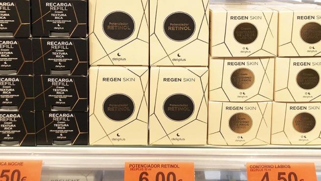 Nuevo sérum antiarrugas, Regen Skin Potenciador Retinol, en la Perfumería de Mercadona.