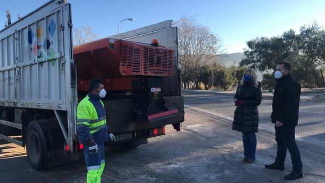 Operativo del Ayuntamiento de Granada ante el frío extremo
