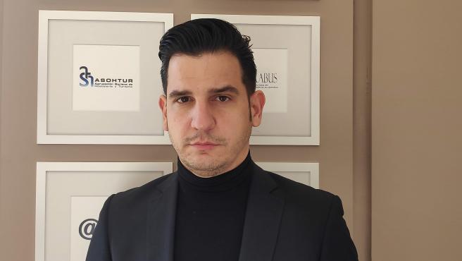 Pablo Cabezón, presidente de los hosteleros sorianos lamenta el nuevo cierre del sector.