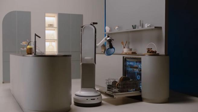 Samsung Bot Handy podrá reconocer y recoger objetos de diferentes tamaños.