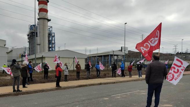 El comité de empresa de la Central Térmica de Arrúbal desconvoca la huelga desde el 14 de enero