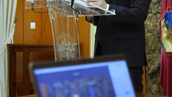 El teniente de alcalde delegado de Inclusión y Accesibilidad del Ayuntamiento de Córdoba, Bernardo Jordano.