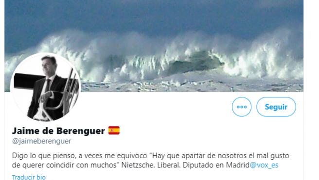Twitter de Jaime de Berenguer