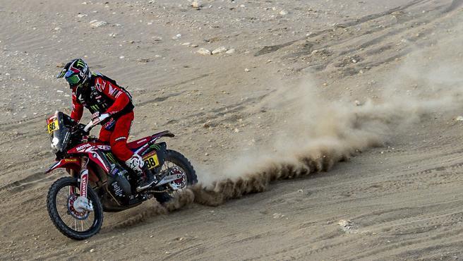 Joan Barreda, en el Dakar 2021