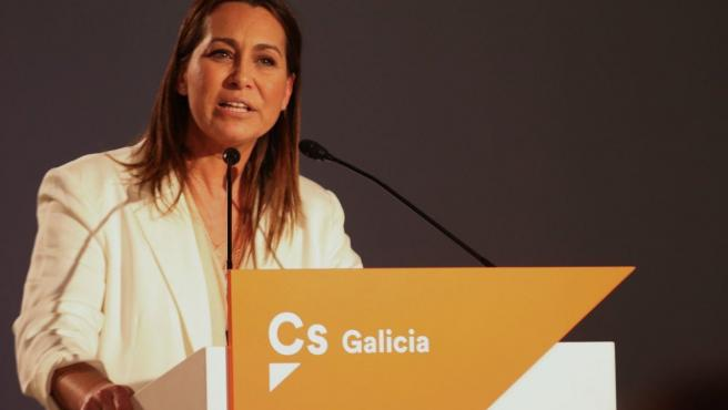 La coordinadora de Ciudadanos Galicia, Beatriz Pino