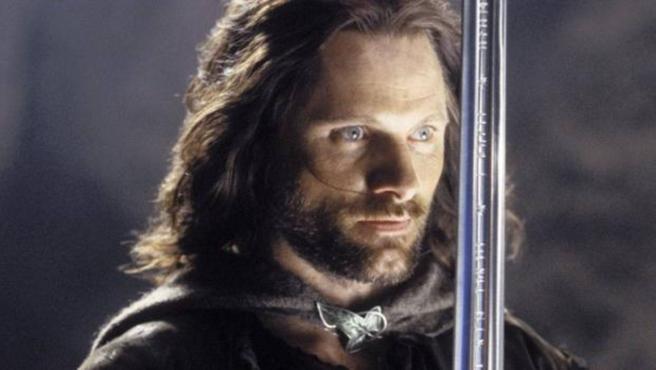 Viggo Mortensen como Aragorn en 'El señor de los anillos'.