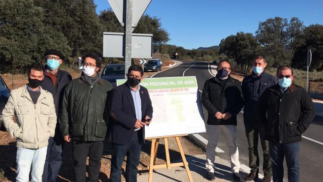 Visita a la carretera de acceso a Torres de Albanchez