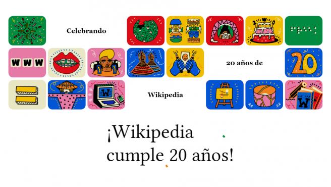 La enciclopedia más conocida de Internet nació el 15 de enero de 2001.