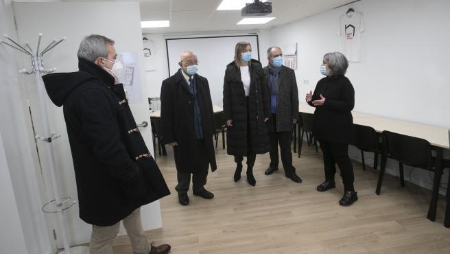 A conselleira de Política Social, Fabiola García, visita o centro de atención social continuada Vieiro de Cáritas, onde informará das subvencións concedidas ao abeiro da orde de axudas a entidades sociais con cargo ao 0,7% do IRPF