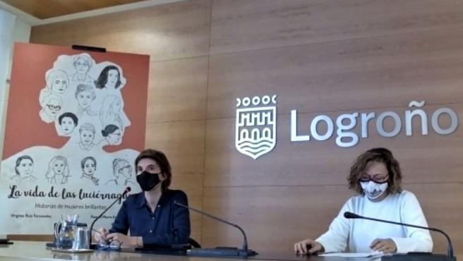 El Ayuntamiento de Logroño presenta un proyecto de investigación sobre 13 mujeres riojanas referentes