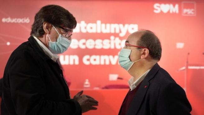 El PSC propondrá este viernes celebrar las elecciones catalanas en marzo