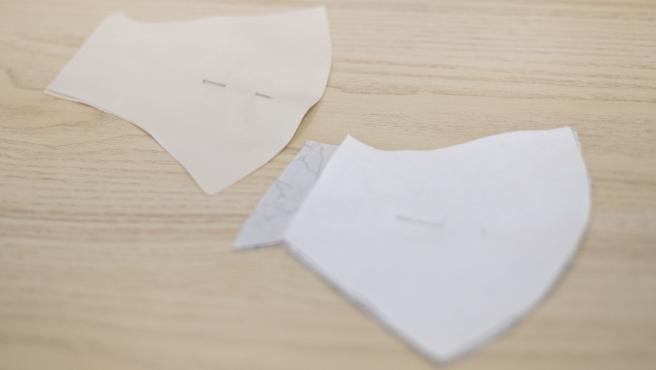 Imagen de archivo de mascarillas de tela