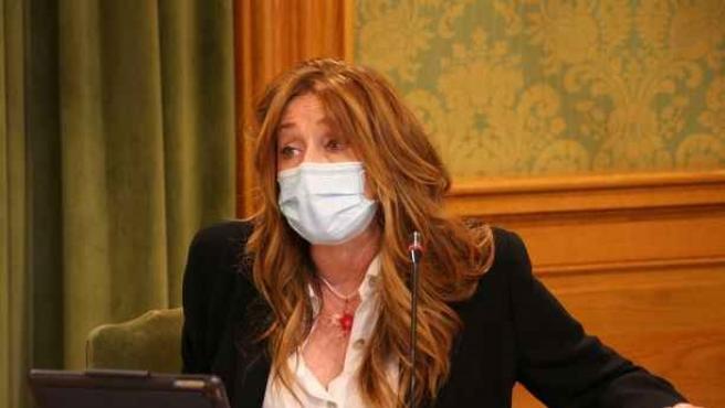 La portavoz de Cs en el Ayuntamiento de Cuenca, Cristina Fuentes