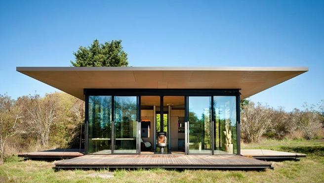 Esta cabaña de cristal, diseñada por Olson Kundig, es un lugar fantástico para vivir y trabajar, ya que cuenta con todas las comodidades para que ambas experiencias sean satisfactorias. (Foto: Tim Bies/Olson Kundig).