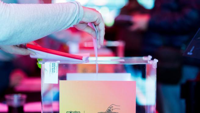 Imagen de una jornada electoral en el FC Barcelona (Archivo)