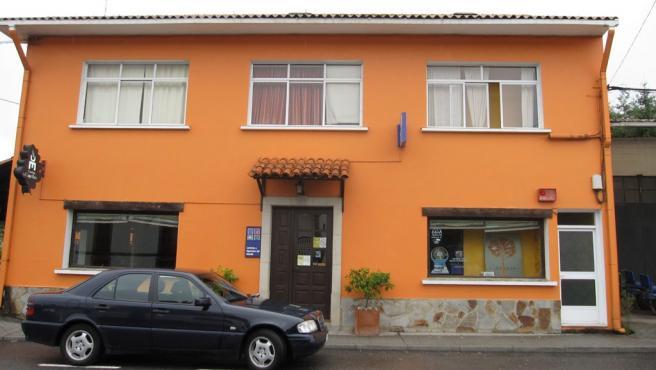 Administración de Loterías de Monfero donde se selló una apuesta agraciada con casi 800.000 euros en el sorteo de la Primitiva del sábado 16 de enero de 2020