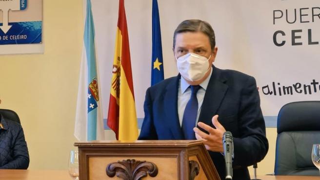 Luis Planas en Celeiro, Viveiro (Lugo)