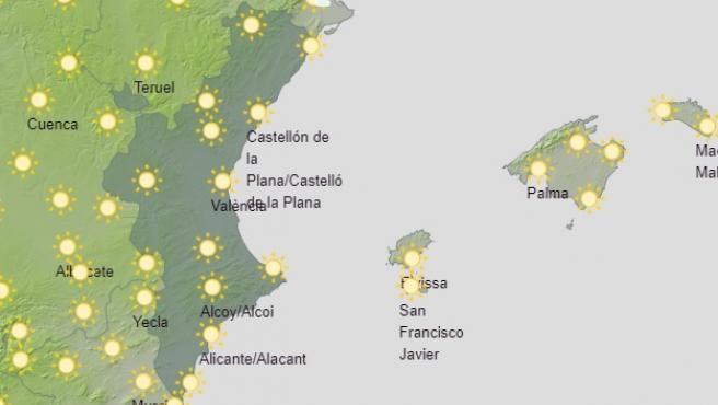 Predicción del tiempo para este domingo 17 de enero