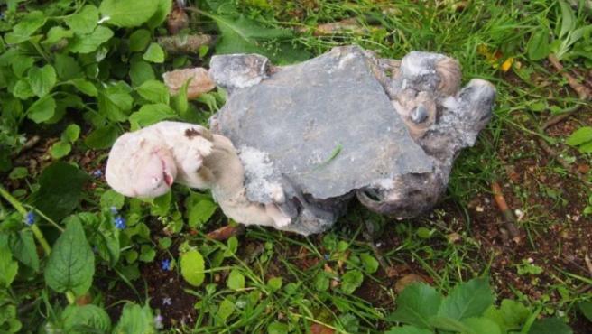 Cachorros hallados muertos tras ser arrojados a un contenedor