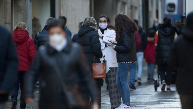 Lugo. Levantamiento del cierre perimetral decretado por la Xunta de Galicia por los indices de contagio de la poblacion con el Covid19. El levantamiento del cierre se produce en el momento en que la ciudad de la Muralla se convierte en la c
