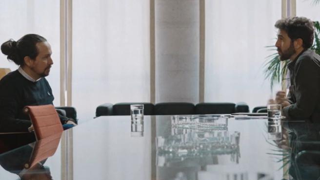 El vicepresidente segundo del Gobierno, Pablo Iglesias, en Salvados.