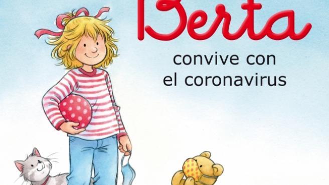 Portada del libro 'Berta convive con el coronavirus'