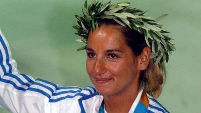 Sofía Bekatoru, campeona olímpica de vela.