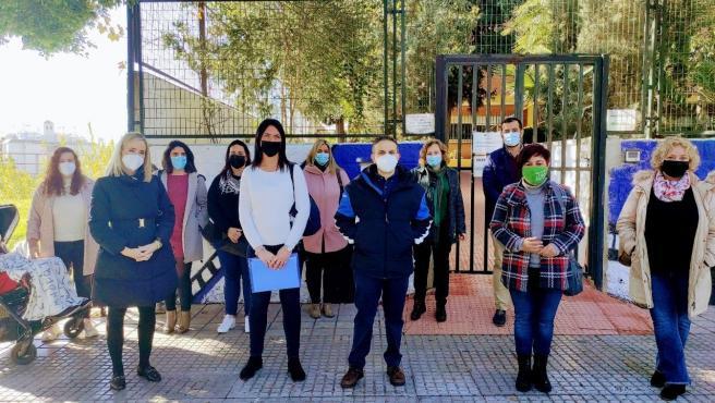 Adelante exige a la Junta que contrate de forma urgente al profesorado para atender al alumnado de necesidades especiales del colegio público Luis Buñuel