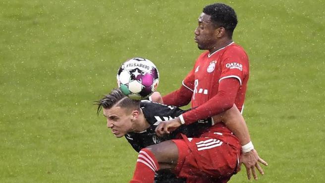 David Alaba, jugador del Bayern de Múnich.