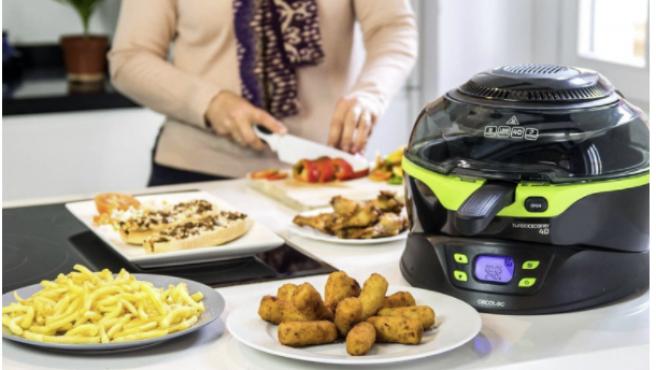 Las freidoras de aire permiten preparar platos deliciosos en poco tiempo y de una forma más sana.