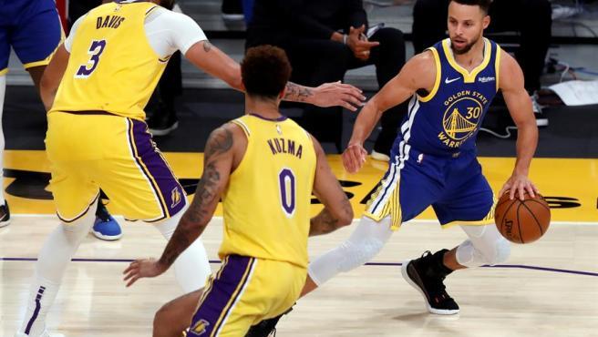 Stephen Curry, jugador de los Golden State Warriors.